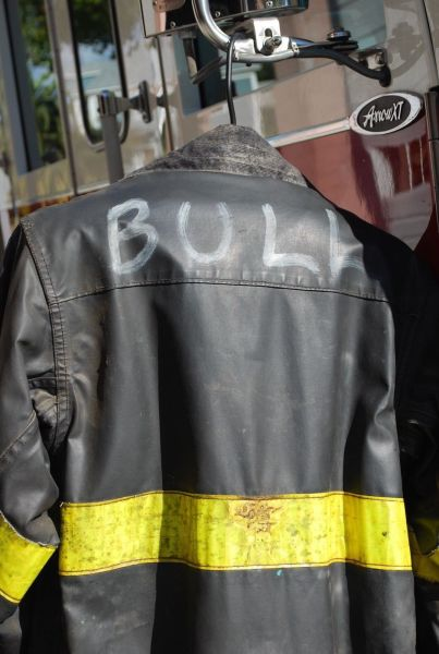 CFD fire coat from the movie Backdraft