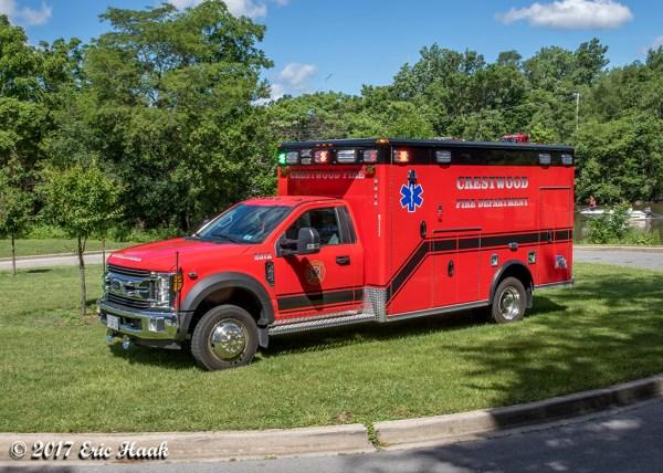 Crestwood FD Ambulance 2312
