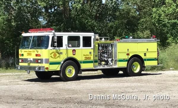 Merrionette Park Fire Department fire engine