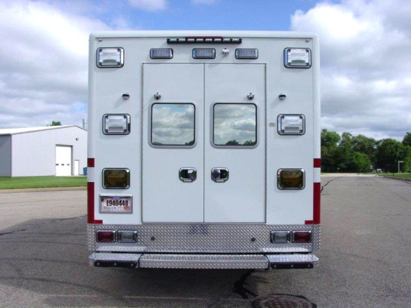 Crystal Lake FD ambulance