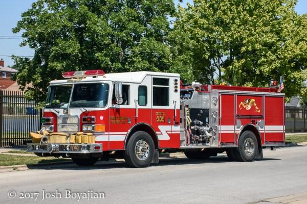 Central Stickney FPD Engine 905
