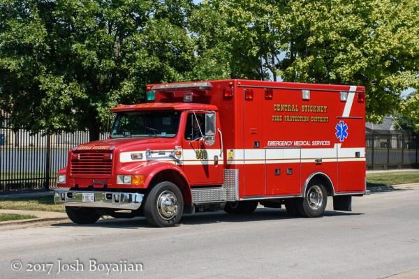 Central Stickney FPD Ambulance 908