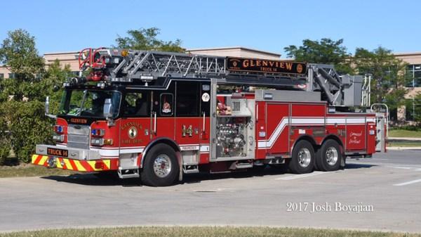 Glenview FD Truck 14