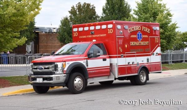 Cicero FD Ambulance F10