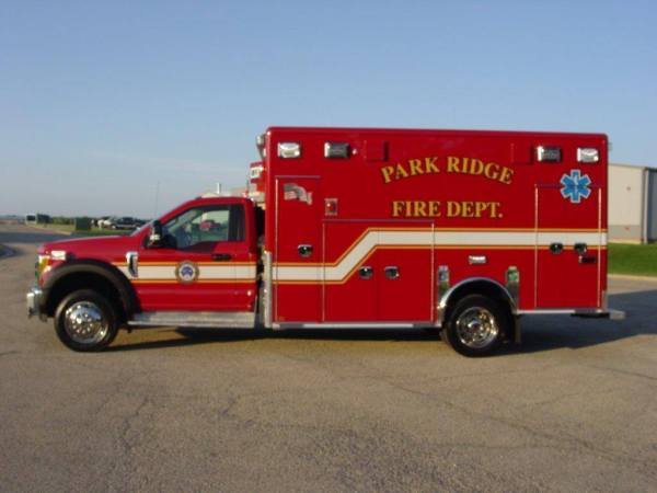 Park Ridge FD ambulance