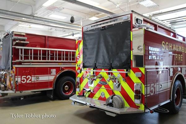 Schaumburg FD fire engines