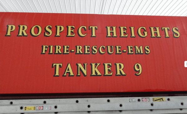 Prospect Height Fire District Tanker 9