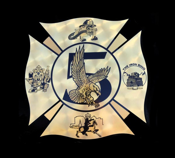 Schaumburg FD Battalion 5 decal