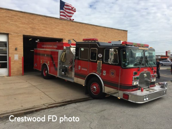 Crestwood FD Engine 2323