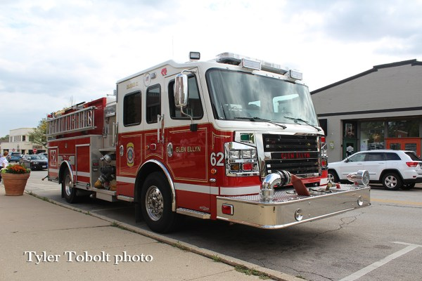 Glen Ellyn FD Engine 62
