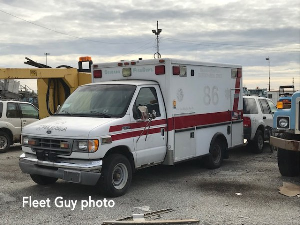 Former Chicago FD ambulance for sale at auction