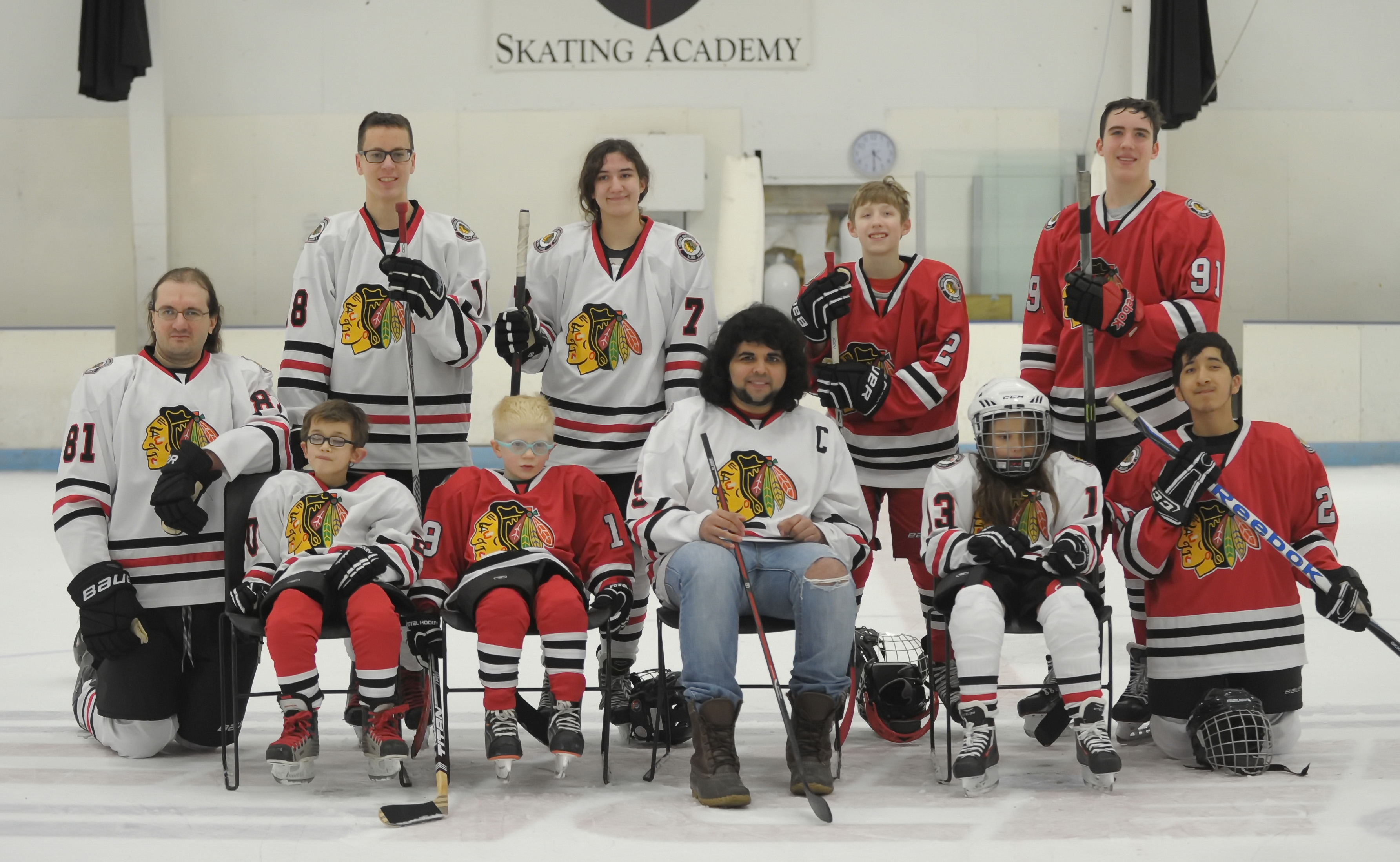 Blackhawks Players