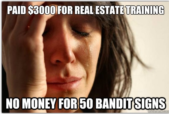 wholesaling real estate problems