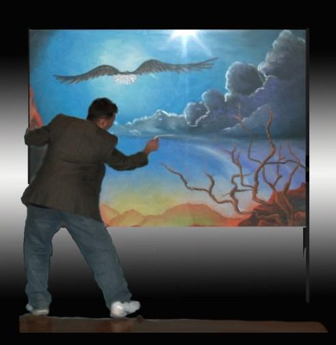 Chicago Chalk Champ - Shaun Hays - Artwork (c) 2008