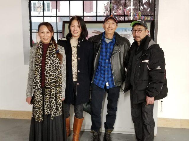 08李啟明與余蘭香夫婦與來賓合影