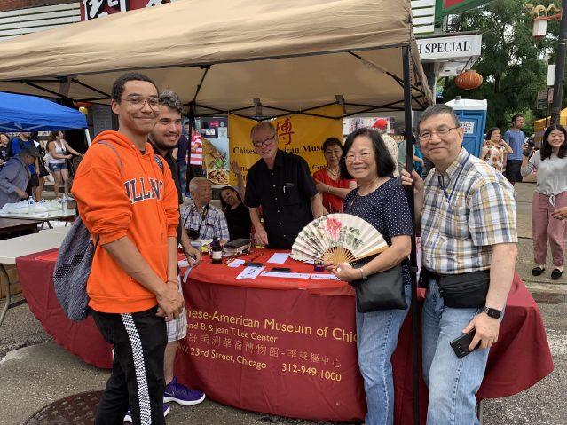 照片七:美洲華裔博物館攤位