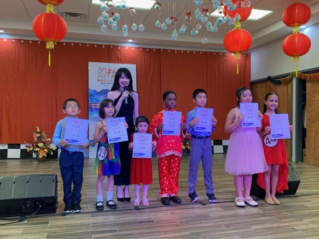 照片十:兒童組參賽選手合影