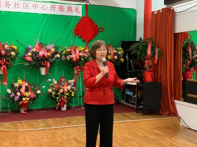 照片一:希林中心主任楊八林致辭
