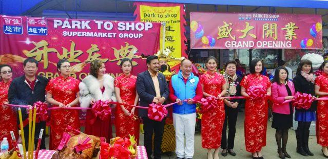 02南華埠百佳超市剪綵一景
