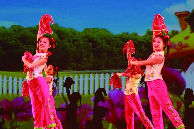 4.兒童舞蹈《喜妞妞》
