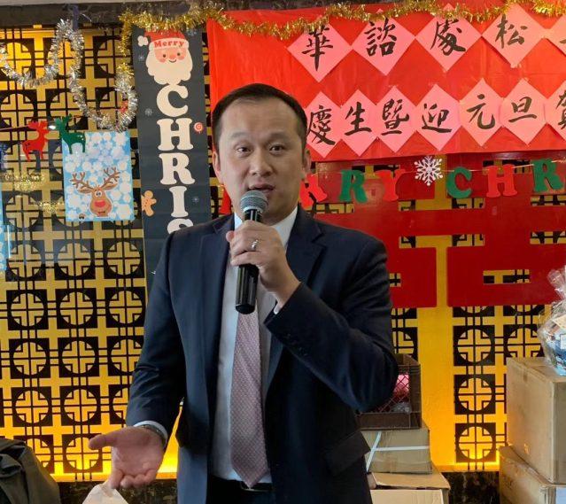 1.華咨處總裁劉國華向耆老們送上溫暖的生日祝福及節日問候