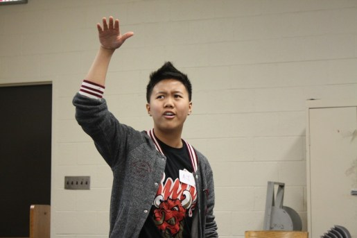 Youth AJ Tran performs spoken word piece that won the Louder Than the Bomb contest in Chicago