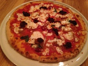 Calabrese Pizza, Ceres' Table, Chicago, IL