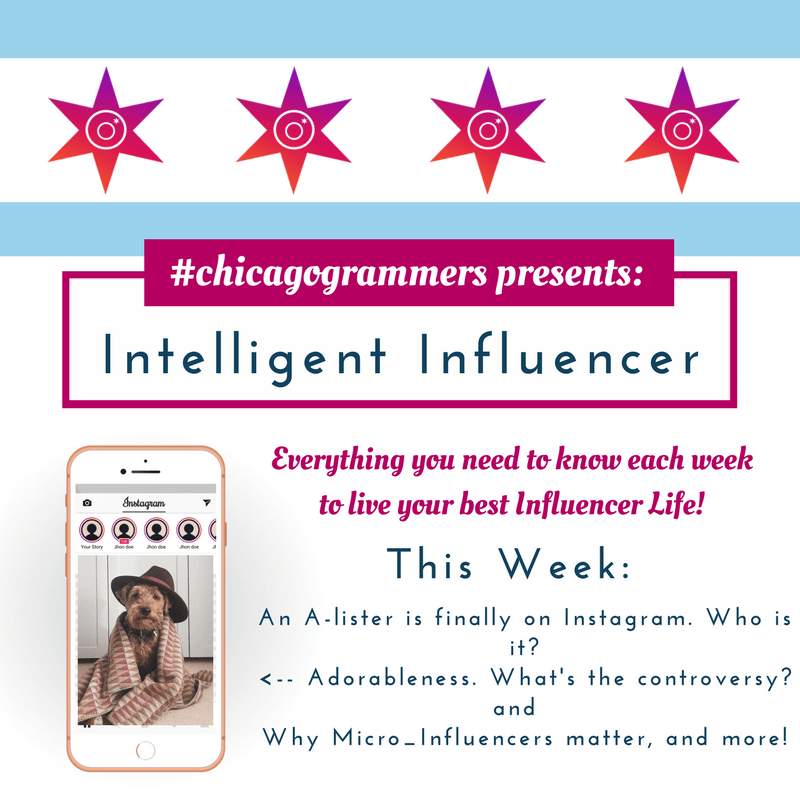 The Chicagogrammers Intelligent Influencer: January 28, 2018