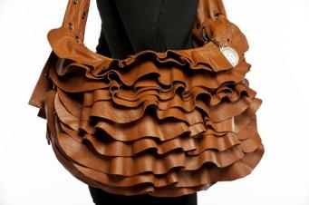 Swaby Ruffle Handbag
