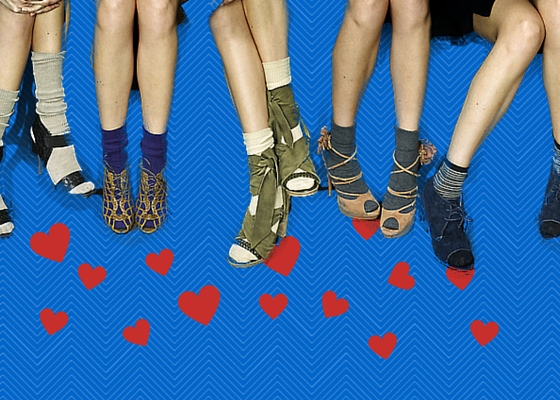 How to wear socks and sandals