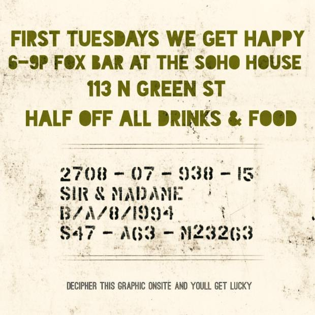 First Tuesday at Fox Bar
