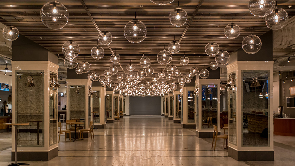 Revival food hall in chicago