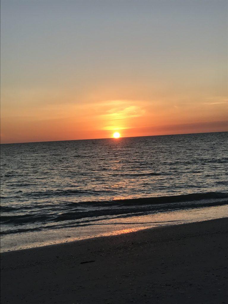 Sunset Walk on Marco Island Friday Five