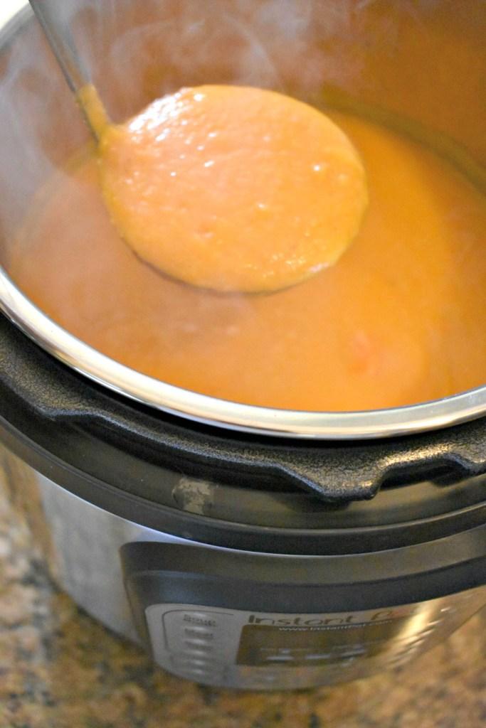 Instant Pot Carrot Parsnip Soup