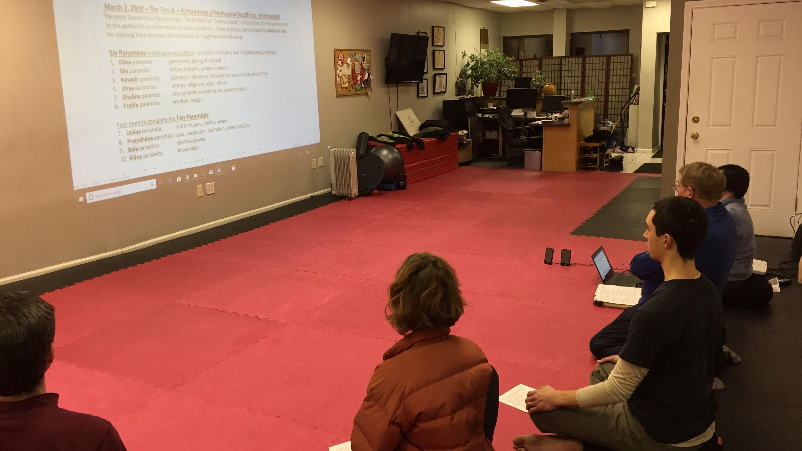 "Meditation + Dharma Learning: ""The Ten Paramitas: Generosity Part 2"""