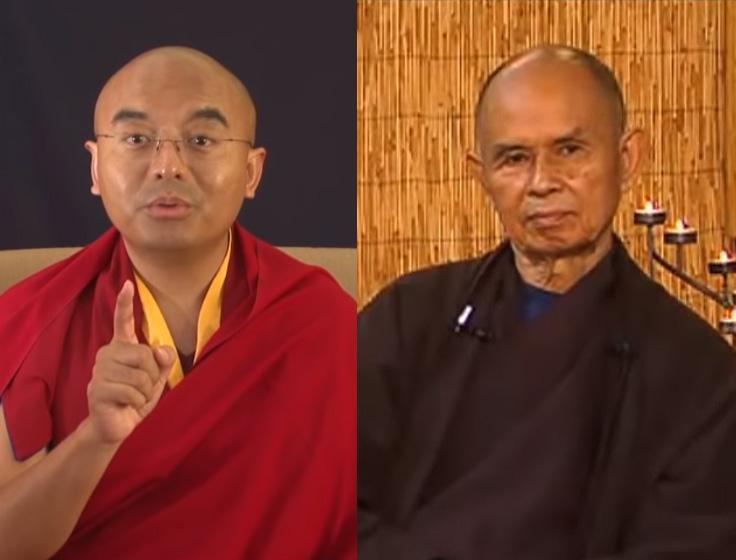 Thích Nhất Hạnh & Yongey Mingyur Rinpoche