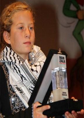 Ah'd Tamimi awarded the Hanzala Award for Courage in Turkey in 2008