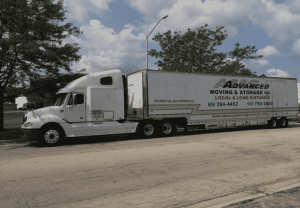 Local and long distance moving truck