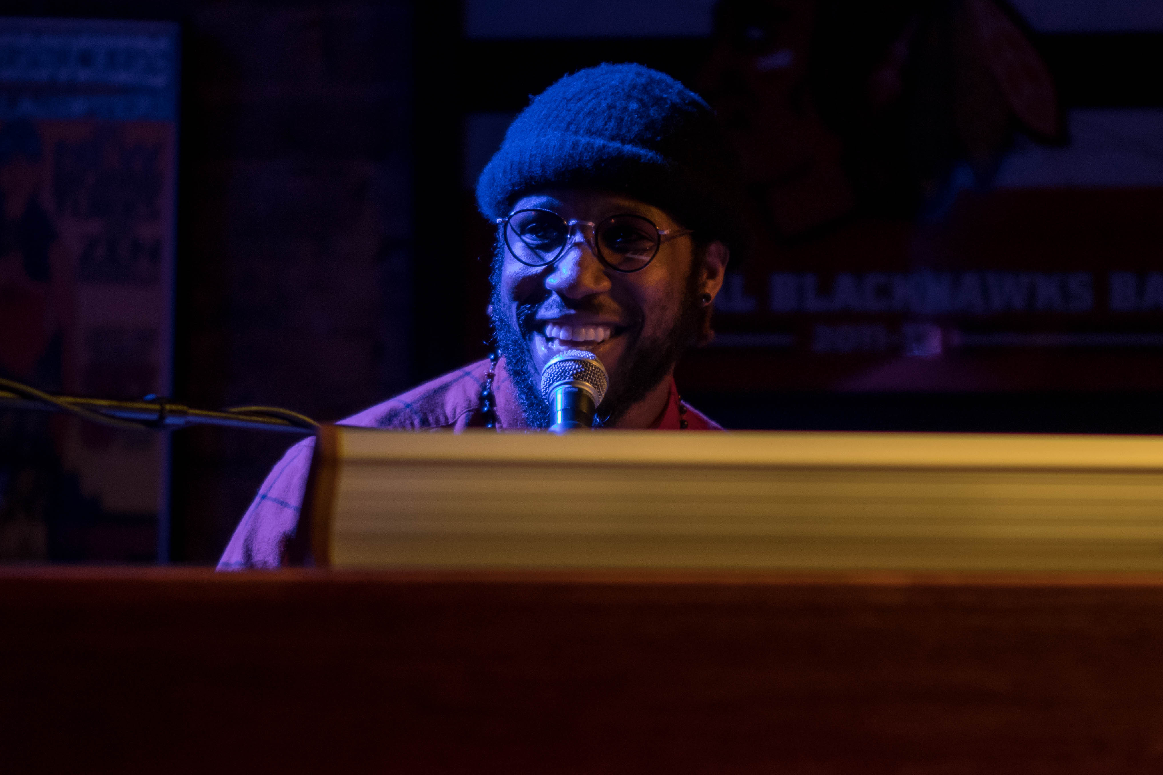 Cory Henry at Reggies March 9, 2018. Photo by Kevin Baker. Chicago, IL