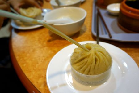 Xia Long Bao at City God Temple - Shanghai | @mjtam #Dtour