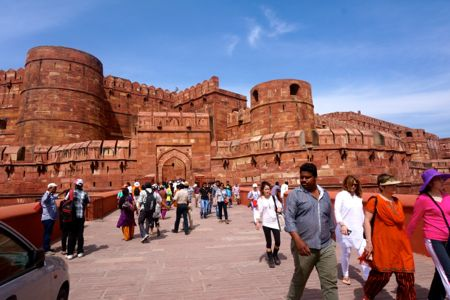 Agra Fort - India | #DTour @mjtam