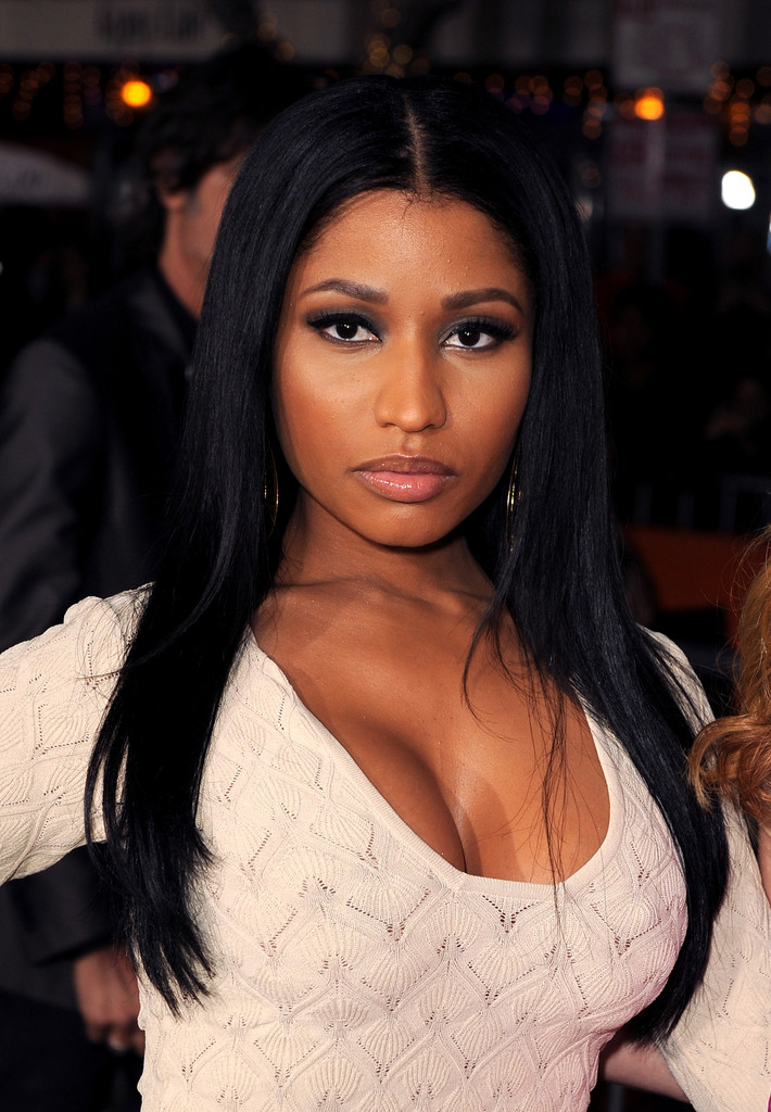 Nicki Minaj At The Other Woman LA Movie Premiere Looks