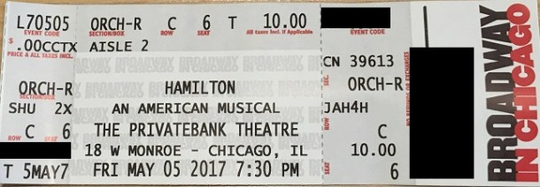 How to enter the Hamilton Digital Lottery - Chicago on the Cheap