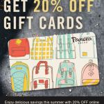 20% off Panera Gift Cards online