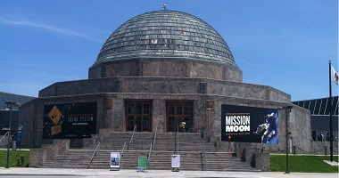 Here's the deal on free day at Adler Planetarium Chicago