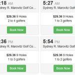 Cheap golf courses Chicago