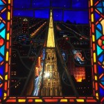Check out Chicago Temple exterior stained glass
