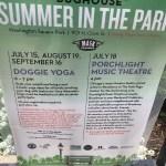 Free Dog Yoga Washington Square Park