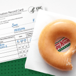 Free Krispy Kreme donut with Covid vaccine proof