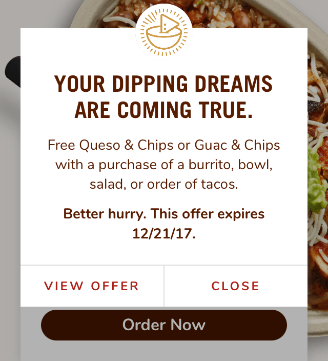 picture about Chipotle Printable Coupon named Get hold of contemporary Chipotle Application and Free of charge Chips and Guac or Queso